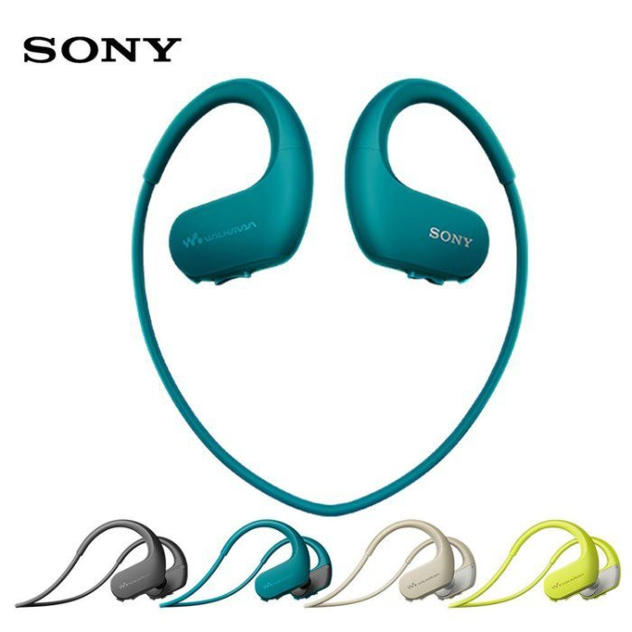SONY NW-WS623 無線入耳頸掛耳機 (1年保固) 台灣公司貨 4GB NFC 防水 運動 藍芽耳機