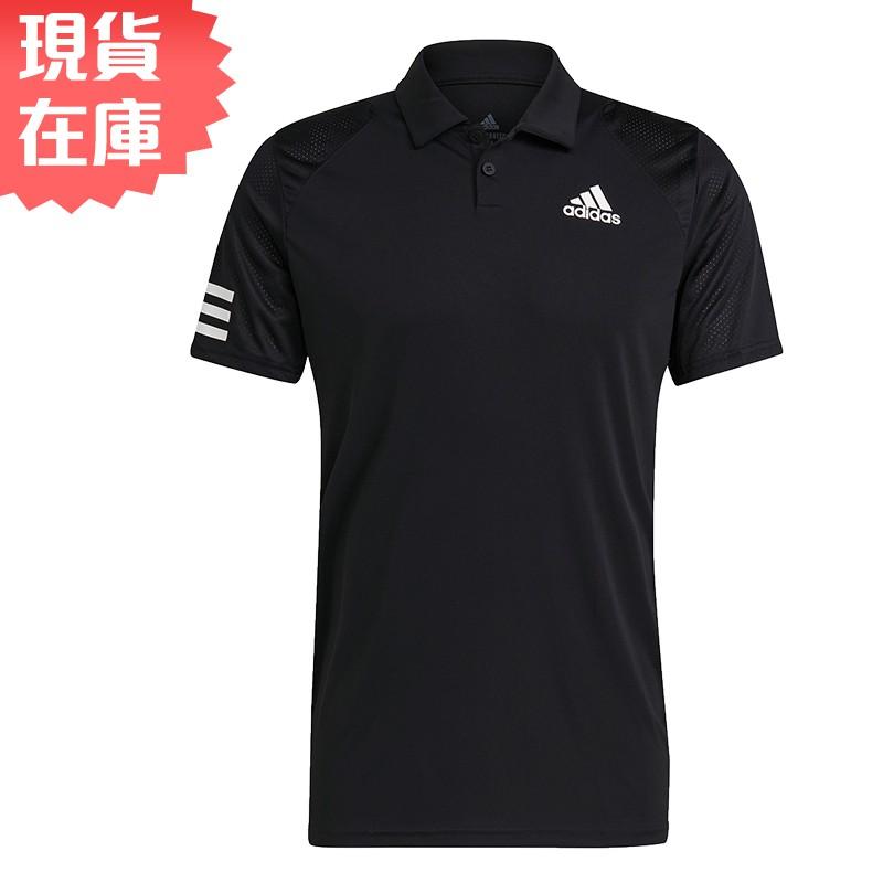 Adidas CLUB TENNIS 男裝 短袖 POLO衫 慢跑 訓練 吸濕排汗 黑【運動世界】GL5421