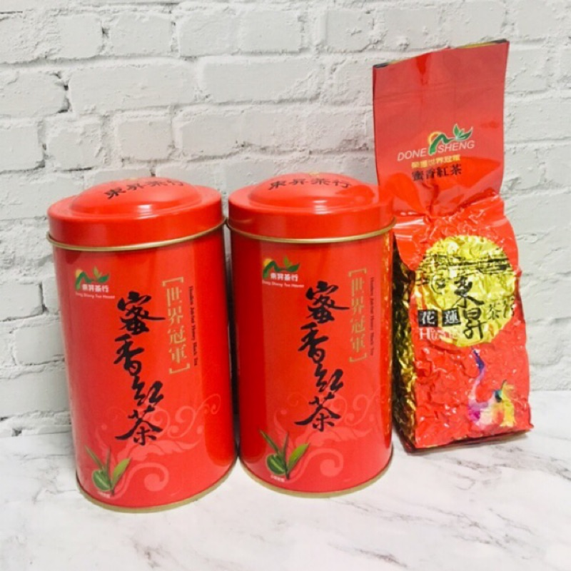 東昇茶行 蜜香紅茶葉(2400-2800等級/斤)-紅茶茶葉熱銷冠軍🏆
