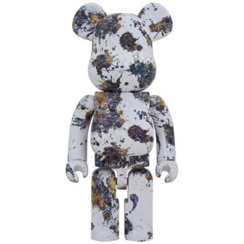 BE@RBRICK Jackson Pollock Studio潑墨 3代 1000% bearbrick