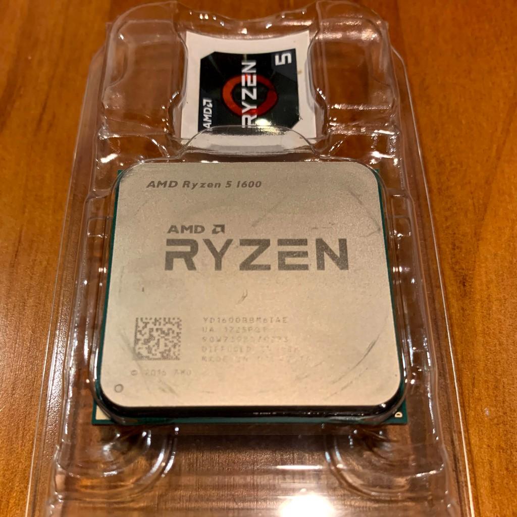 AMD R5 1600 含原廠風扇 二手