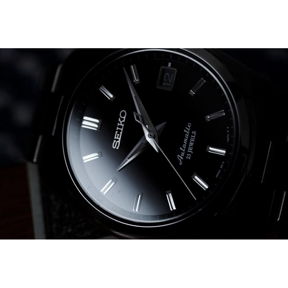SEIKO SARB033 小GS 黑面 GRAND SEIKO 平民版 夜光 日期 日製 機械錶