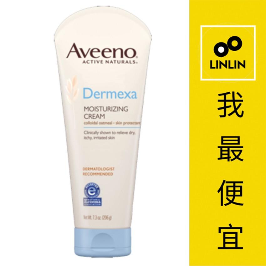 Aveeno艾惟諾 燕麥益敏修護保濕霜206g