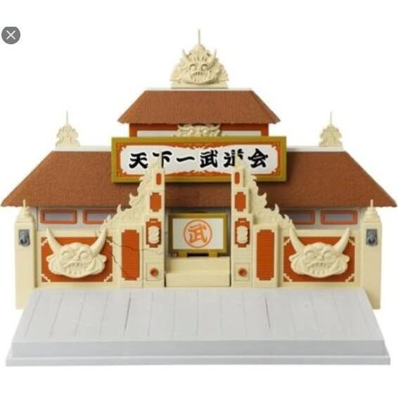 現貨 代理 BANDAI 美版 七龍珠 場景 天下一武道會 盒損