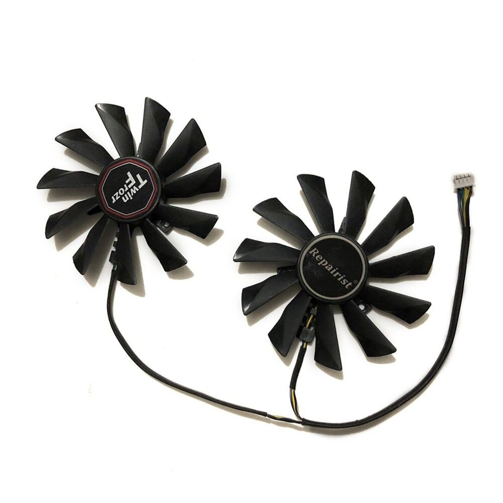 Pld10010s12hh GTX770 GTX780 GPU VGA 冷卻器顯卡風扇, 用於 MSI N770 GTX