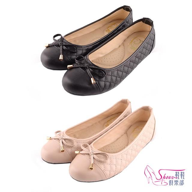 台灣製造MIT優雅蝴蝶結柔軟平底娃娃鞋 鞋鞋俱樂部 023-YT901