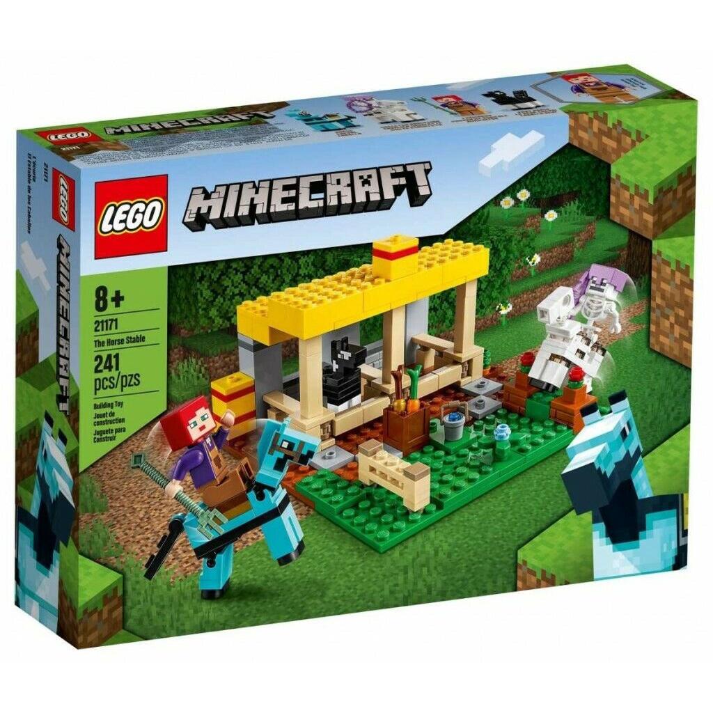 樂高 Lego MINECRAFT 21171 馬穩定建築套裝 241 件
