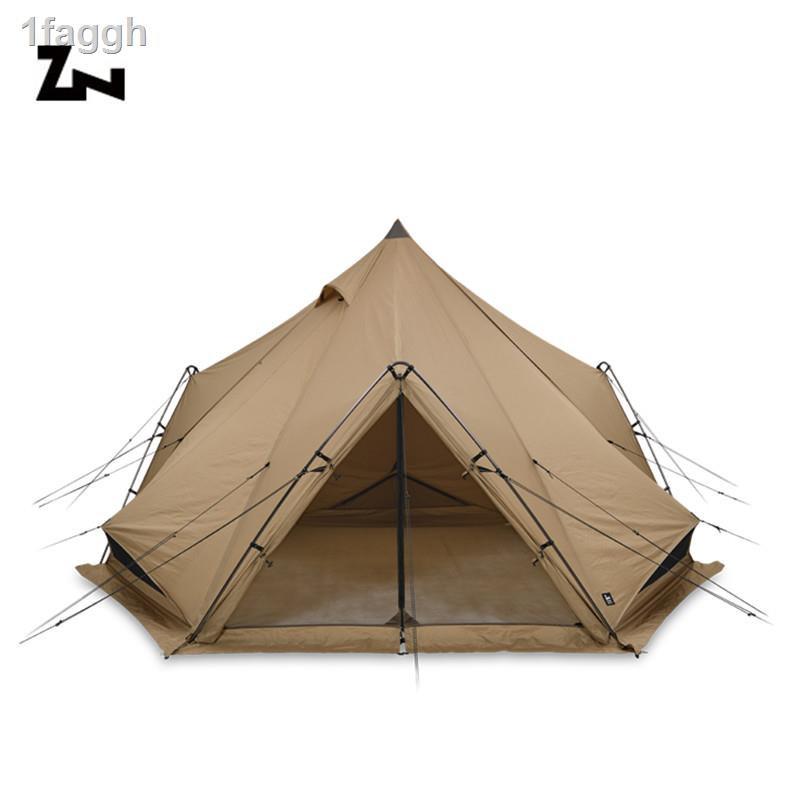 ▩♠◈現貨 日本進口ZANE ARTS ZEKU-M戶外露營登山帳篷防風雨金字塔帳篷