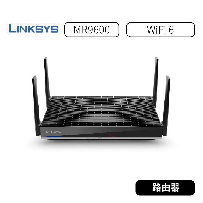 【原廠公司貨】Linksys 雙頻 MR9600 Mesh WiFi 6 路由器(AX6000)