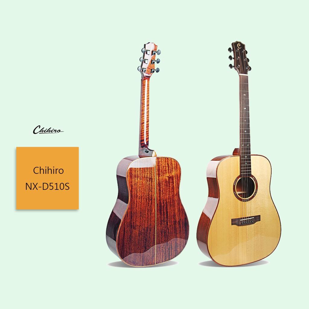 【Chihiro】NX-D510S 民謠吉他 NX系列 正桶 雲杉單板 高檔手工