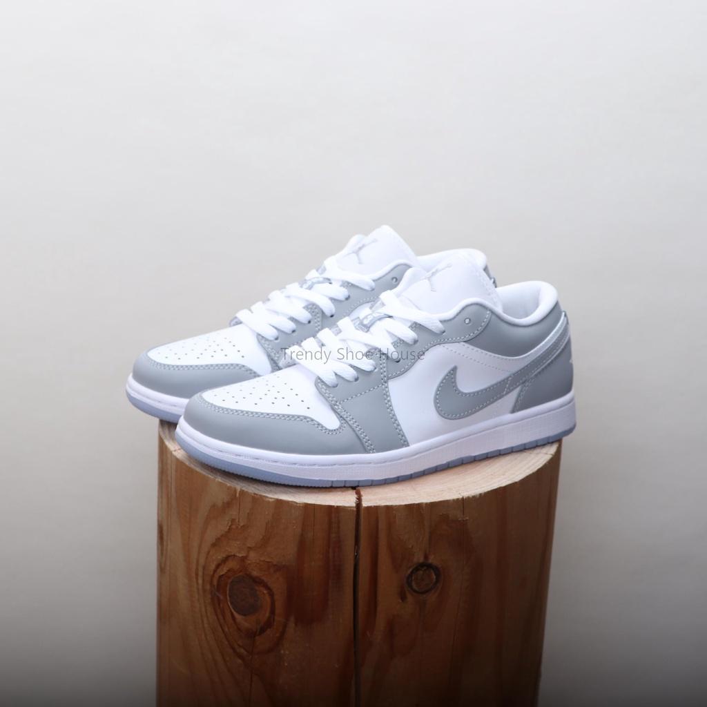 TSH▸Nike Air Jordan 1 Low Wolf Grey 小Dior AJ1 男女鞋 DC0774-105