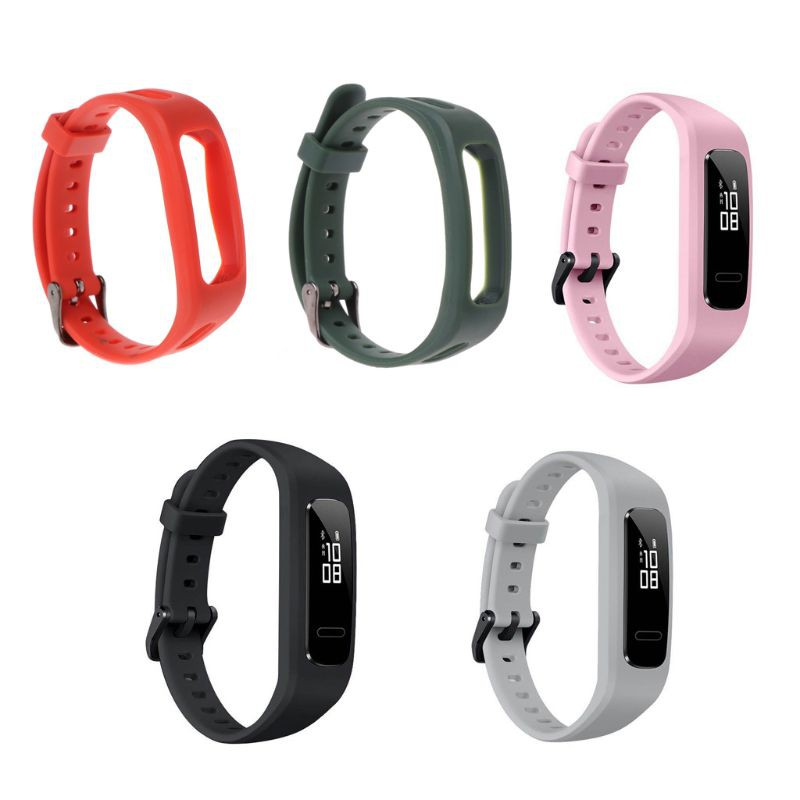華為3E/榮耀Band4跑步版 腕帶 TPU 可調錶帶