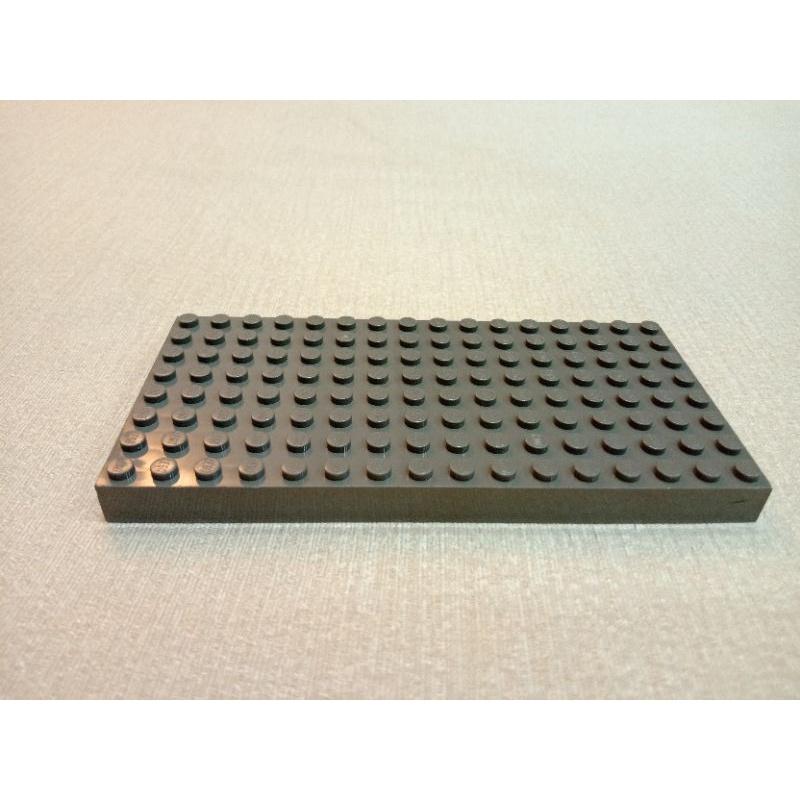LEGO 樂高 4204 DK灰 舊深灰 綠色 8x16  底板 底磚(二手)