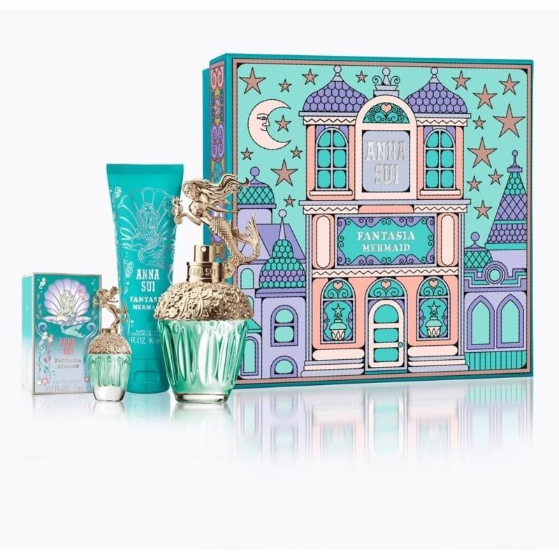 [Anna Sui]童話美人魚海底香氛/城堡假期50ML禮盒(限量版)~原廠公司貨
