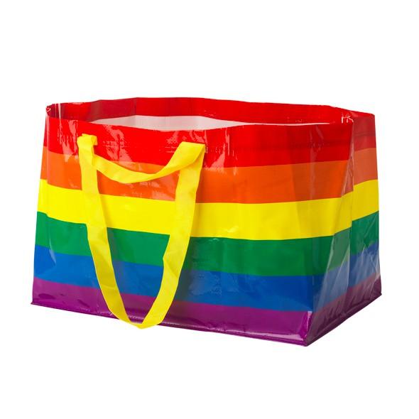 日本IKEA 限定防水購物袋 (彩虹)