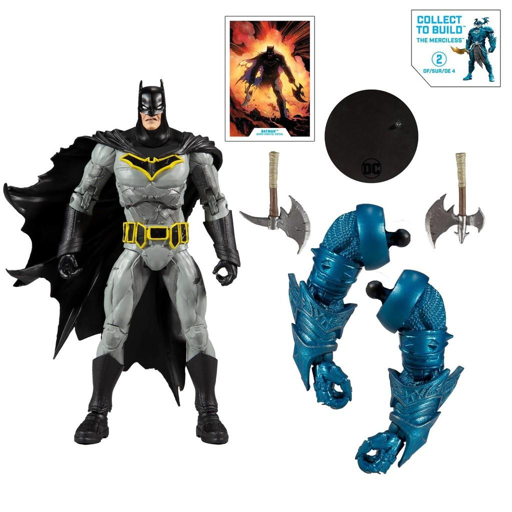 {克拉克玩具} 麥法蘭 DC Multiverse METAL BATMAN 蝙蝠俠 含無情者配件