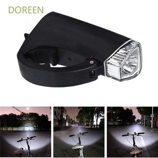 Doreen 防水頭燈 3 種模式車把燈自行車燈 3AA 電池供電的耐用 LED 自行車 3000LM 手電筒 /  多色