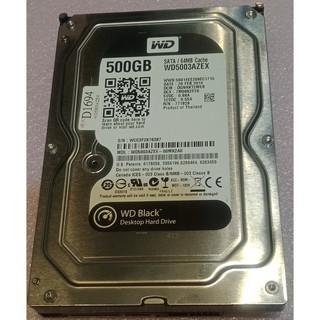 售 過保 故障 3.5 吋 WD 黑標 500G 硬碟  WD5003AZEX 64MB CACHE 桃園市