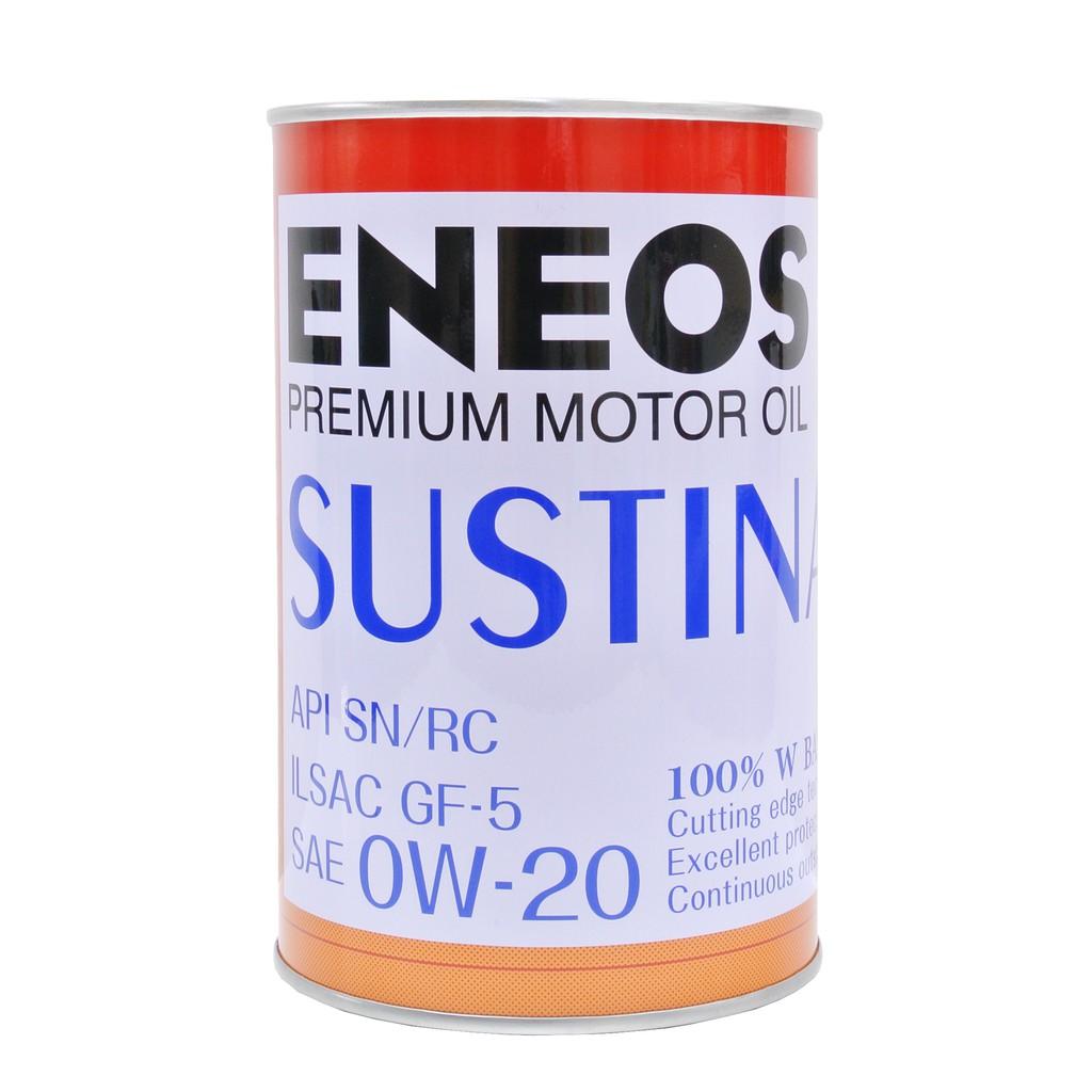 油槍滑掉-ENEOS 新日本石油 SUSTINA 0W 20 0W-20 機油 原廠 VOLVO 油電