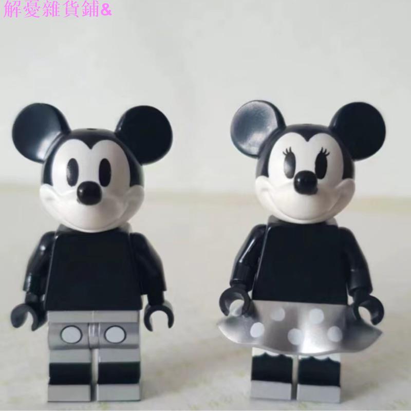 解憂雜貨鋪&樂高 LEGO Ideas系列 威力號 米奇米妮人偶 21317