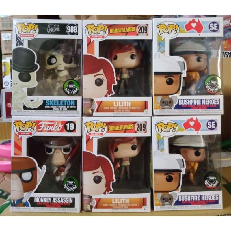 FUNKO POP 正版 988 地獄新娘 19 濺血猴子 209 LILITH SE 澳洲消防員 無尾熊