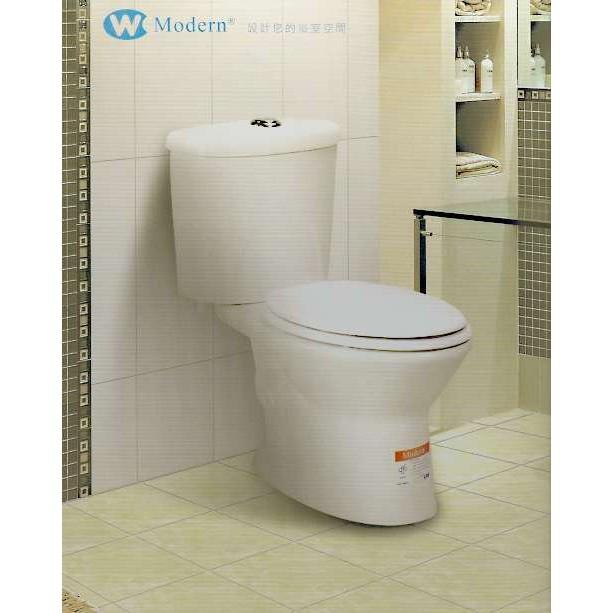 《金來買生活館》摩登衛浴 CS-2109 奈米瓷 防污 兩段式沖水馬桶 特殊管距 20CM / 25CM