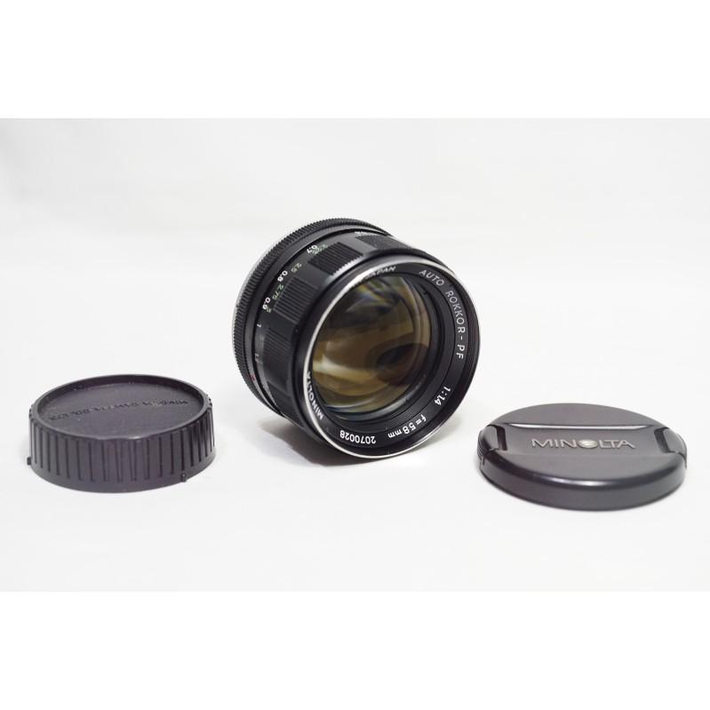 大眼睛鏡頭 MINOLTA AUTO ROKKOR-PF 58mm F1.4