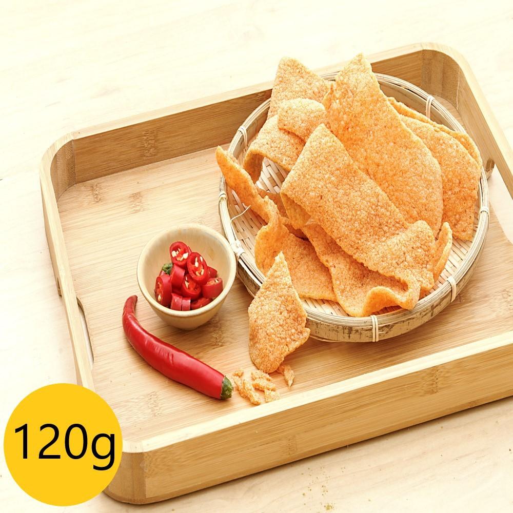 蝦米工坊-蝦米彎菓-安平蝦餅-蝦餅-辣味大包裝