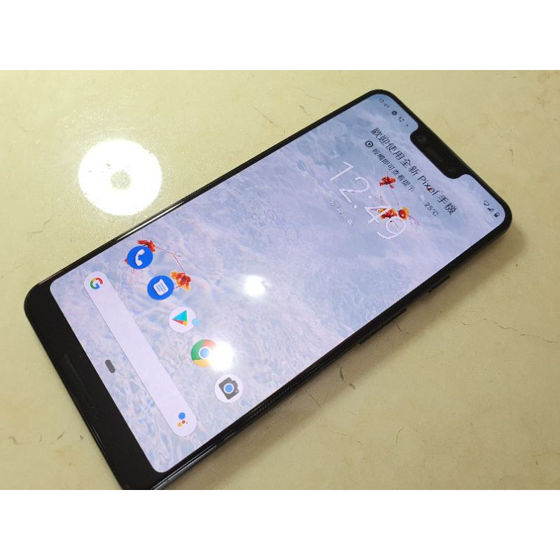 Google pixel3 XL128G 美版二手,品項極佳,換機出售google pixel4