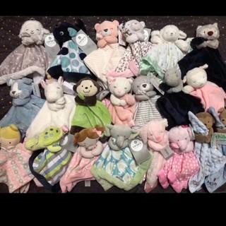 美國  嬰幼兒動物款式安撫巾 Carter /  Carters / DOUGLAS 彰化縣