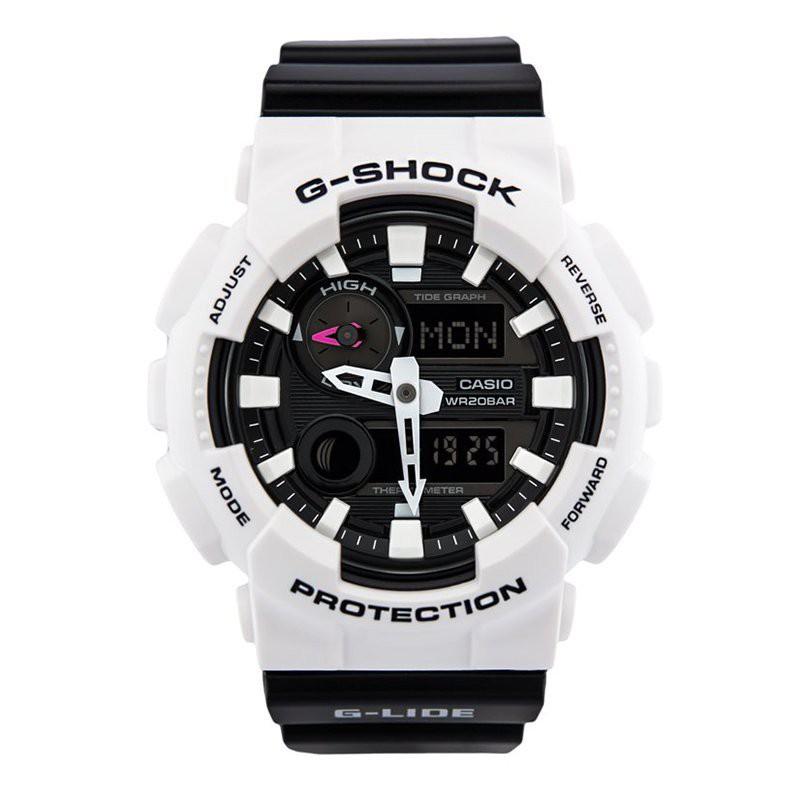 2021開學卡西歐手錶男高達G-SHOCK學生白武士白虎GAX-100A-7A 100B 1A 4 yOOz2021新品