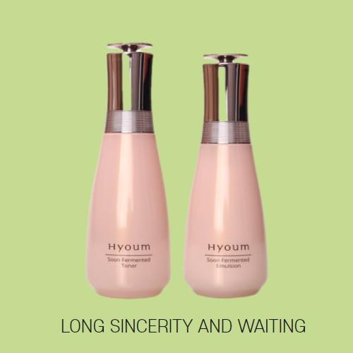 HANKOOK HYOUM SOON 發酵柔膚水+ 乳液/ 140ML+130ML