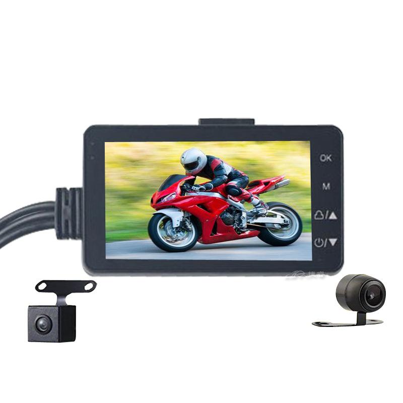 【限時免運】摩托車行車記錄器 機車記錄器 前後雙鏡頭 雙錄 隱藏式 騎行 機車行車紀錄器