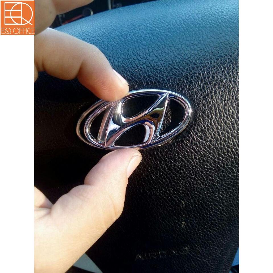 【原廠改裝 台灣免運出貨】Hyundai 現代 車標 方向盤 氣囊標 方向盤標 ix35 Elantra Tucs