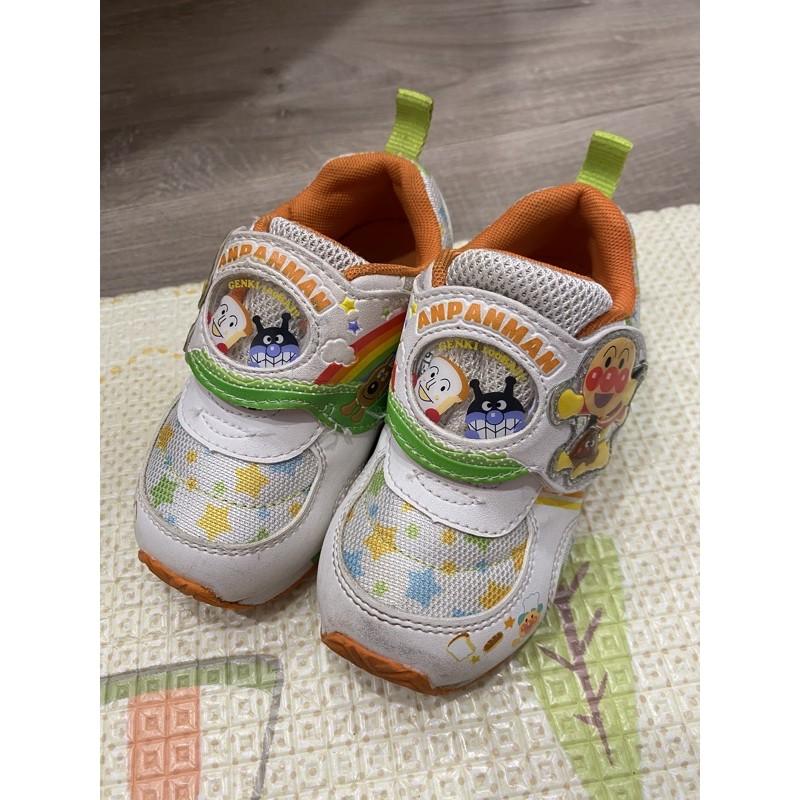 二手MoonStar 麵包超人童鞋 15.0  199隨便賣,高標請去專櫃購買全新品
