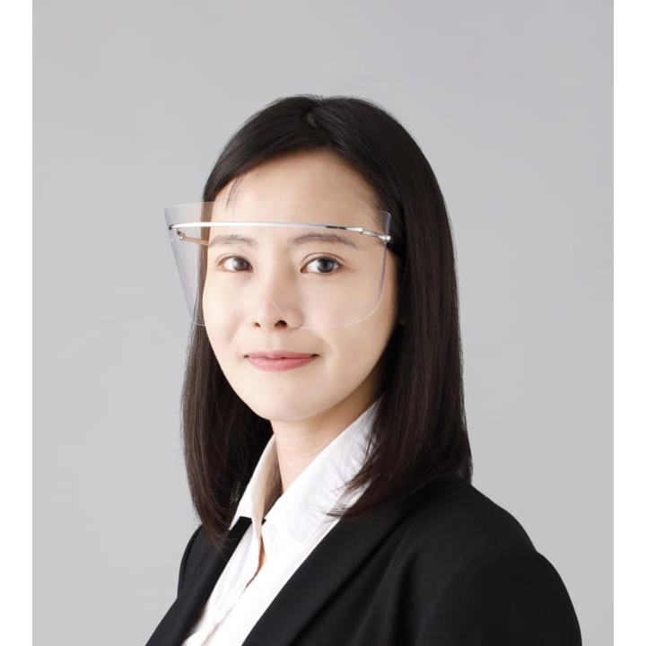 日本 SHARP 夏普 鈦合金 眼部專用 防護面罩 FG-500M 日本製