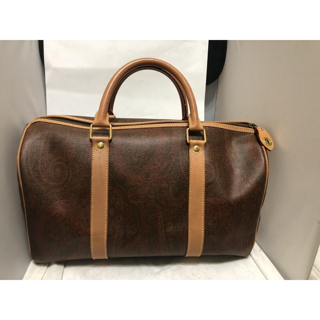 ETRO 圖案旅行袋 旅行包 手提包 公事包
