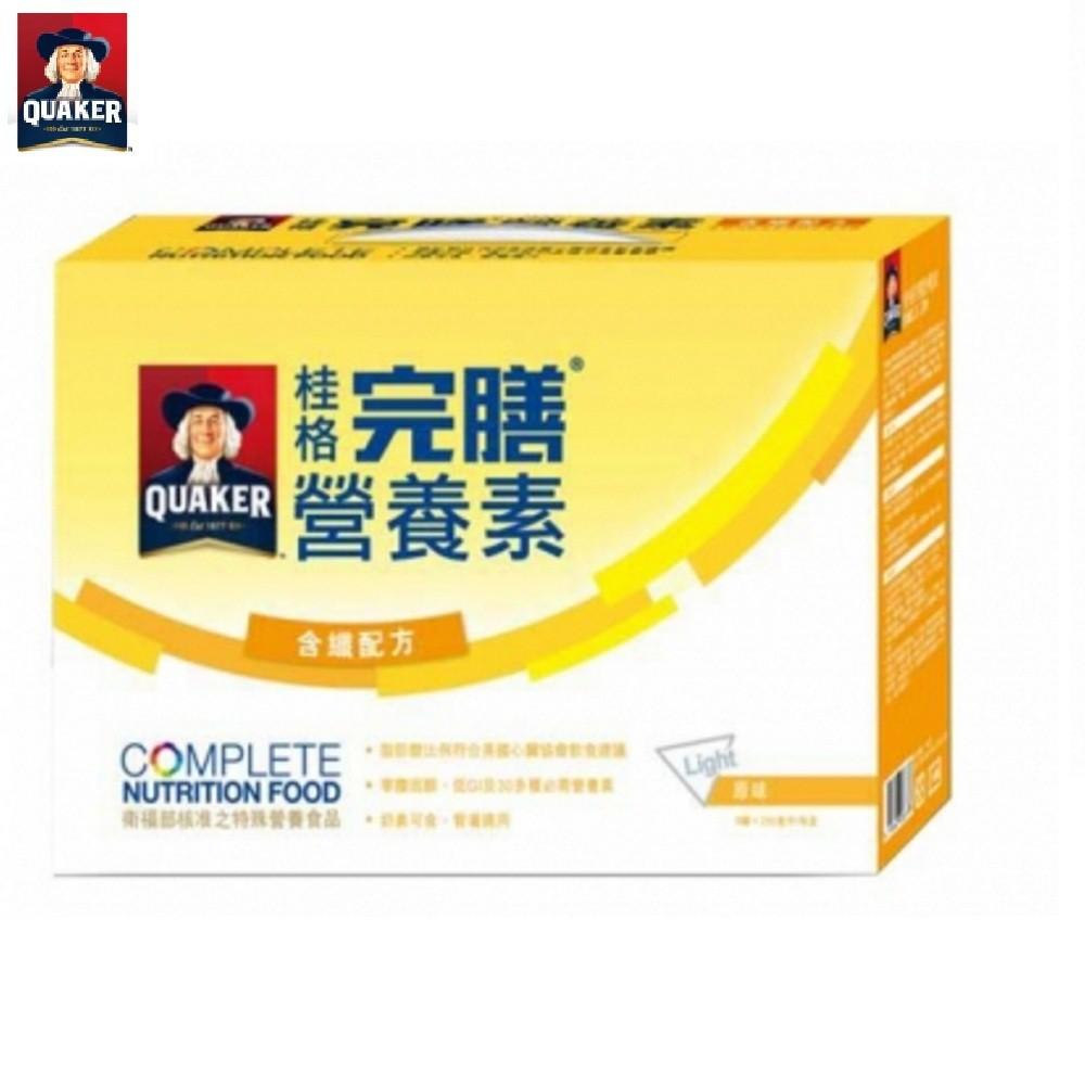 桂格 完膳營養素-原味含纖*8罐 禮盒 大樹