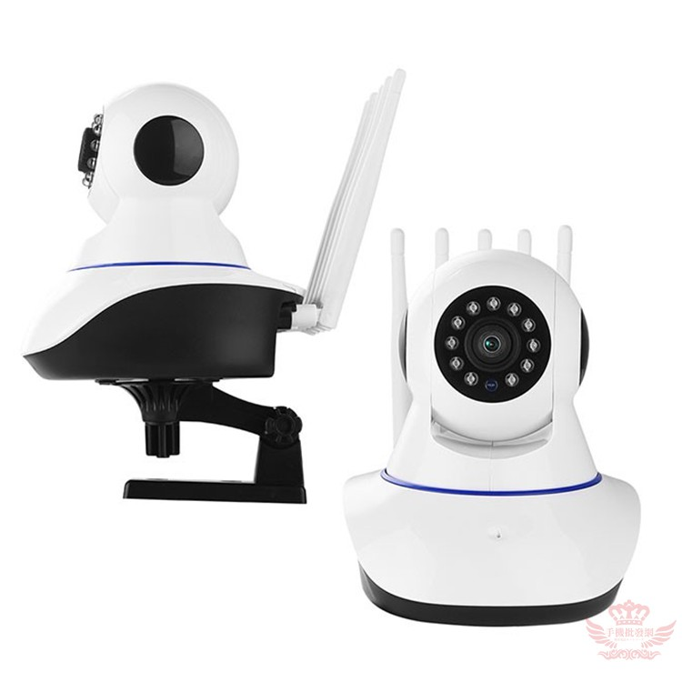 UTA HD9 網路監視器【五天線版】手機批發網 10燈夜視 安卓IOS共用 攝影機 即時監控 雙向對話 VS1