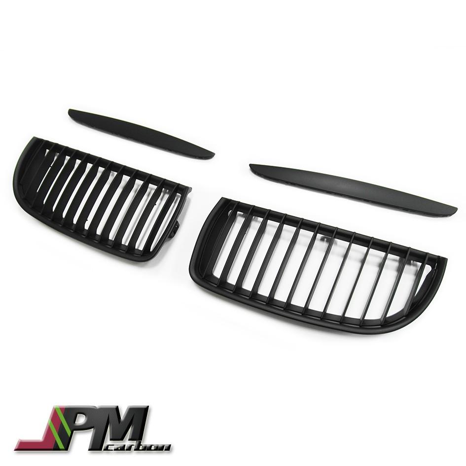 全新 BMW E90 前期 霧黑 單槓  Grille 水箱罩 大鼻頭 水箱護罩