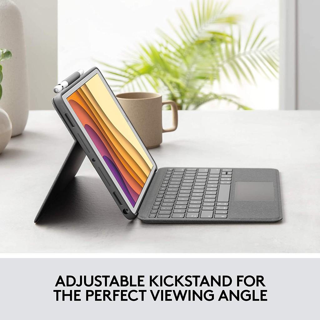 羅技 Logitech COMBO TOUCH 適用iPad (8代) iPad Air (3代)和 iPad Pro