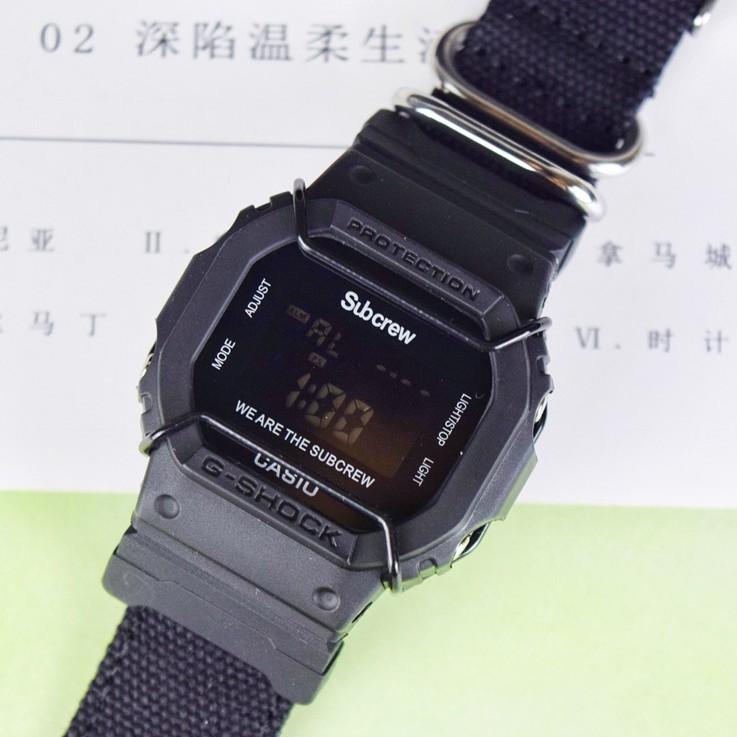 卡西歐Porter×G-SHOCK手錶男戶外運動限量電子日版GM-5600EY-1JR