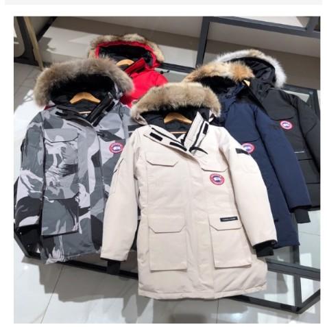男女同款 Canada goose加拿大鵝 EXPEDITION PARKA遠征派克羽絨外套 毛領可拆 多色可選