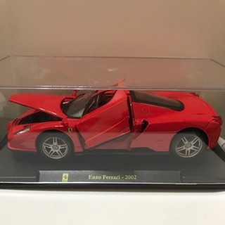 🈵️ 聖誕節跨年滿額免運費 burago 法拉利 1/ 24 Enzo Ferrari-2002 全新已拆 高雄市