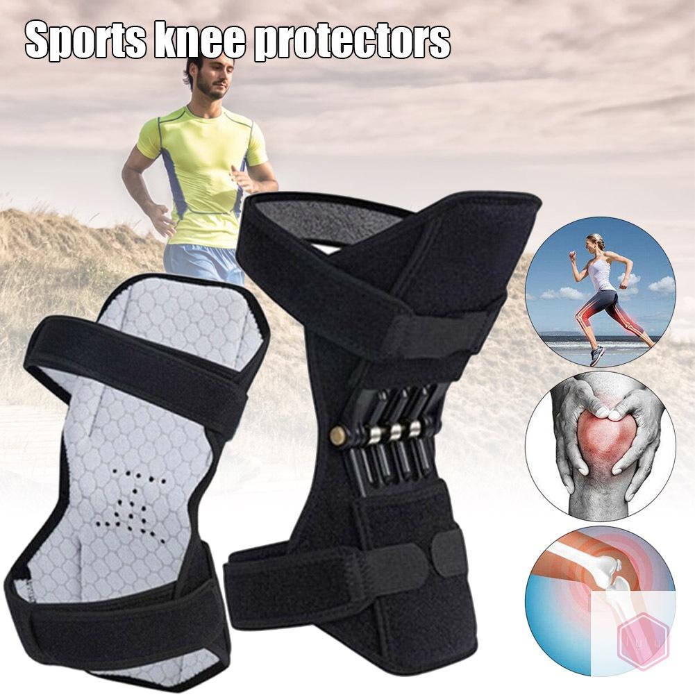護膝助推器力量提升支撐護膝強力回彈墊