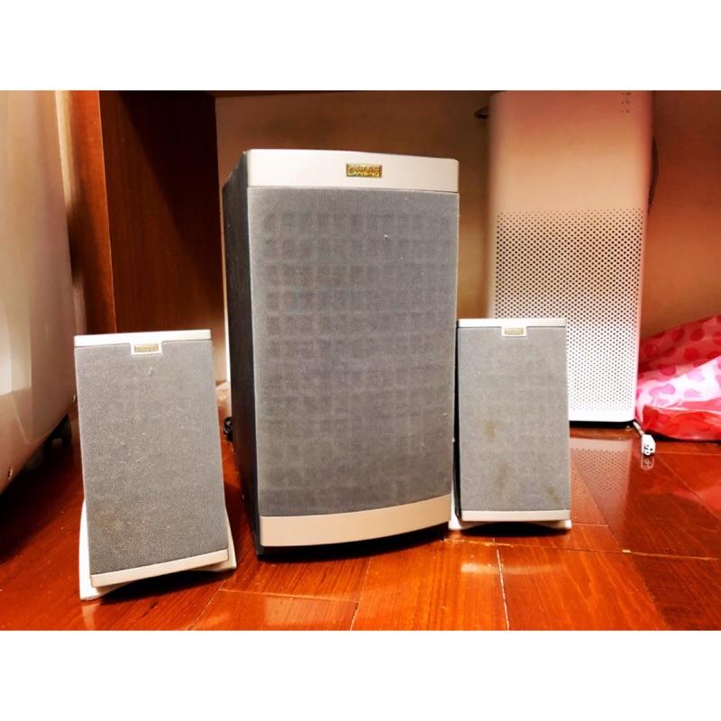一代銘機 Altec Lansing 621 2.1聲道 喇叭 線控電腦喇叭 MX5021