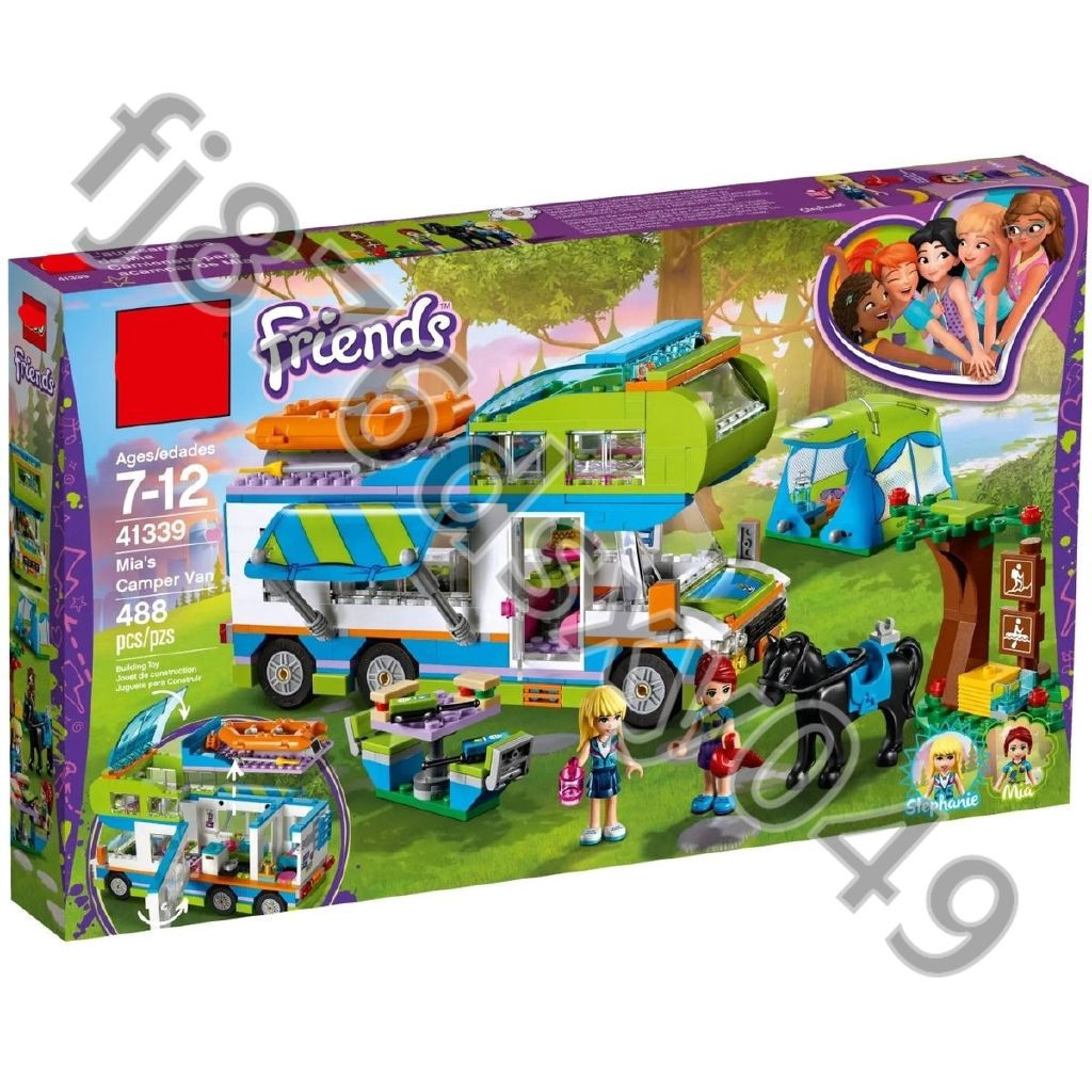 💕BELA博樂10858小女孩好朋友系列41339益智互動拼裝拼插小顆粒積木玩具01062LEGO台台士多