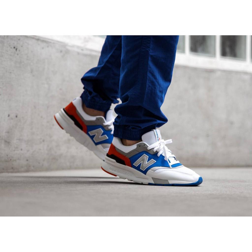 *KTQ*NEW BALANCE CM997HZJ 997 白色 男女鞋 CM997 復古 韓系 白藍紅灰色
