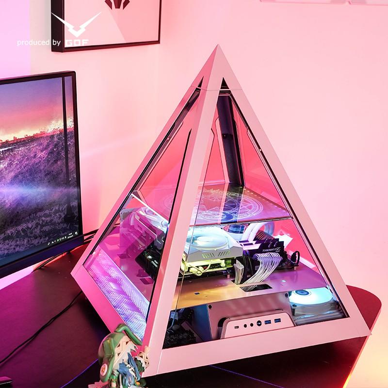 GOF金字塔 11400 i7 10700 RTX3060 3070 3080顯卡 水冷 電腦 DIY主機