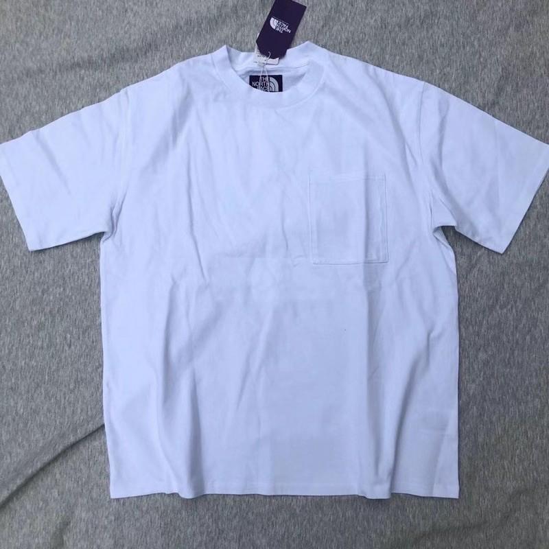 米粒愛佩德羅)日本限定The North Face 紫標 X NASA 聯名款 純棉口袋短袖上衣 tshirt
